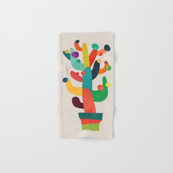 Whimsical Cactus Hand & Bath Towel