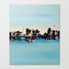 une ville ailleurs Canvas Print
