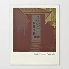 Bondi Beach House Canvas Print