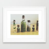 oasis Framed Art Prints featuring Oasis by Shiroshi