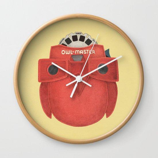 Owl-Master Wall Clock