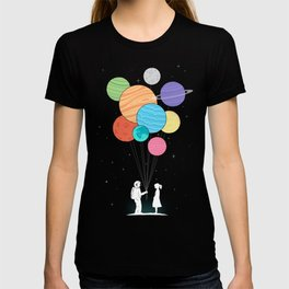 You are my universe (black) T-shirt