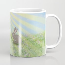fox and bunny Coffee Mug