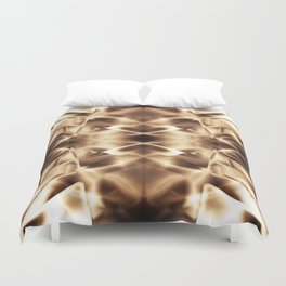 Geometric abstract disign Duvet Cover