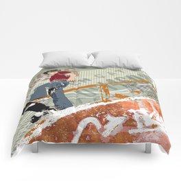 skateboarder Comforters