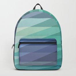 Geometric Sunrise Backpack