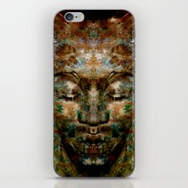 Brother MEDITATION - tuned visibility iPhone Skin