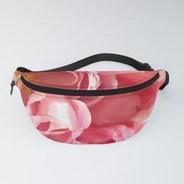 Feminine Pink Peony Fanny Pack