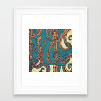 octopus Framed Art Prints featuring Octopus by Arcturus
