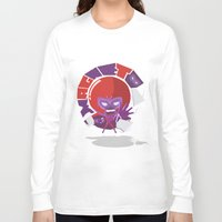 magneto Long Sleeve T-shirts featuring Magneto (style) by Seez