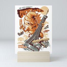 The Kaijussant Mini Art Print