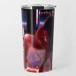 Empower Your Frequency - Femme Inspiration Woman Powa Drawing Travel Mug