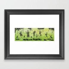 The family portrait Framed Art Print