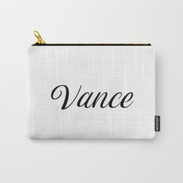 Name Vance Carry-All Pouch