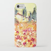 poppies iPhone & iPod Cases featuring Poppies by Michele Petri