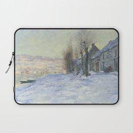 Lavacourt under Snow Laptop Sleeve