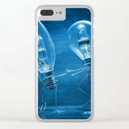 Disco dance Clear iPhone Case