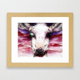 Deer Hunter Framed Art Print