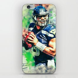 Russell Wilson iPhone Skin