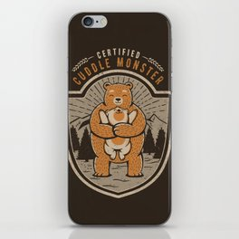 Certified Cuddle Monster iPhone Skin