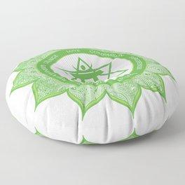 Heart Chakra #49 Floor Pillow