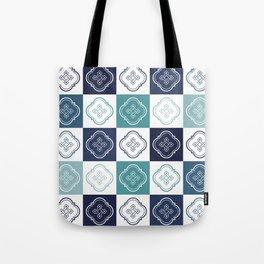 Portuguese Tiles Pattern 2 Tote Bag