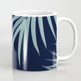 Palm Leaves Pattern Summer Vibes #11 #tropical #decor #art #society6 Coffee Mug