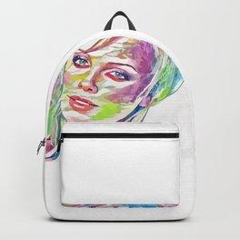 Charlize Theron (Creative Illustration Art) Backpack