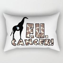 Team Bennett - FU CANCER! Rectangular Pillow