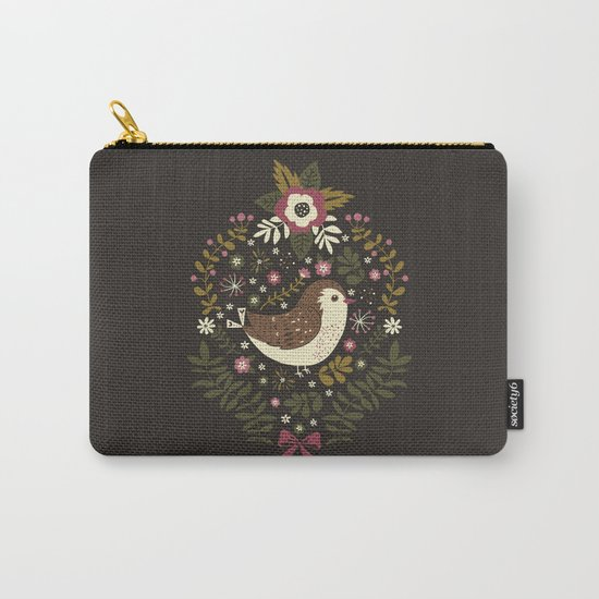 Sweet Robins Carry-All Pouch