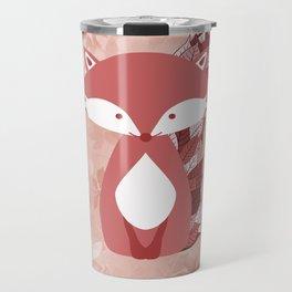 Cute Autumn FOX Design Travel Mug