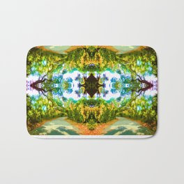 Psychedelic Trees Bath Mat