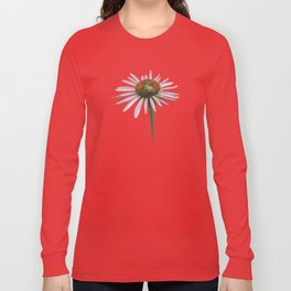 coneflower & bee postale Long Sleeve T-shirt