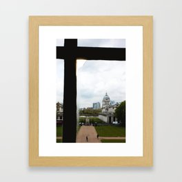 View from the Queen's House Framed Art Print