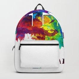 Amarillo Texas Skyline Backpack
