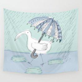 umbrella bird Wall Tapestry