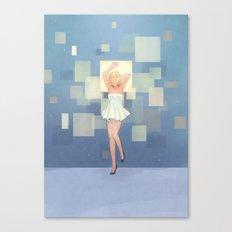 Square Display Canvas Print