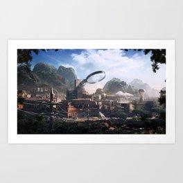 PhotoshopWorld Art Print