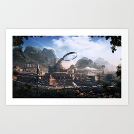 PhotoshopWorld Art Print
