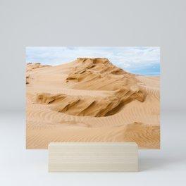 Here n' there - 5 - Te Paki Dunes Mini Art Print