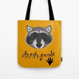 Trash Panda: Raccoon Tote Bag