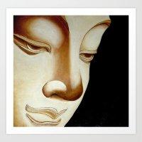 buddha Art Prints featuring Buddha by Joe Pansa