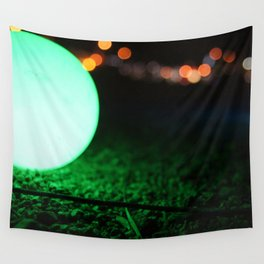 Light and Focus (Green) Wall Tapestry