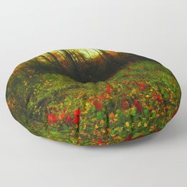 Lullaby of the Leaves Floor Pillow