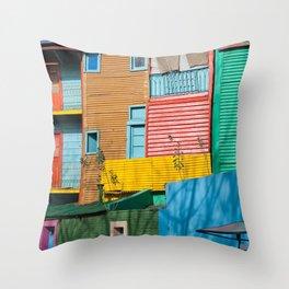 El Caminito Throw Pillow