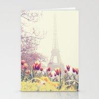 paris Stationery Cards featuring Paris by Gabriela Da Costa