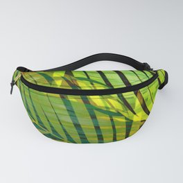 TROPICAL GREENERY LEAVES no1 Fanny Pack