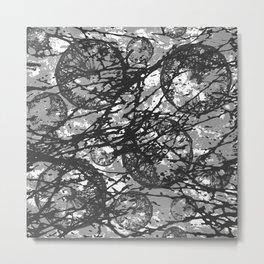 Moon Shadow Metal Print