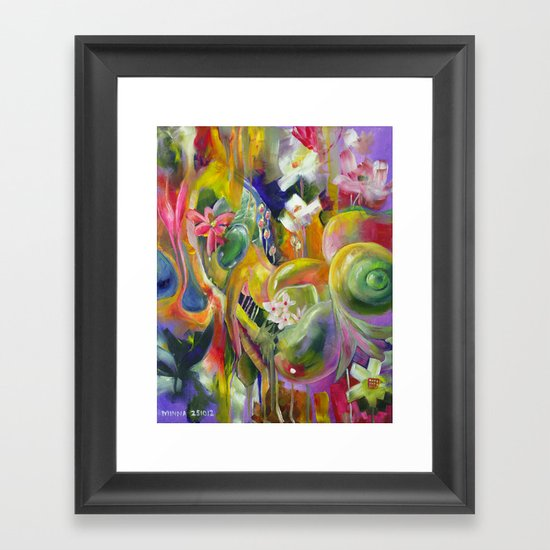 The Many Joys of Tomorrow Framed Art Print