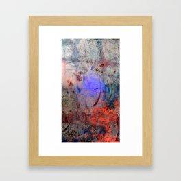 Spatters & Lines Framed Art Print